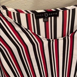 Fred David Tops - Striped Blouse